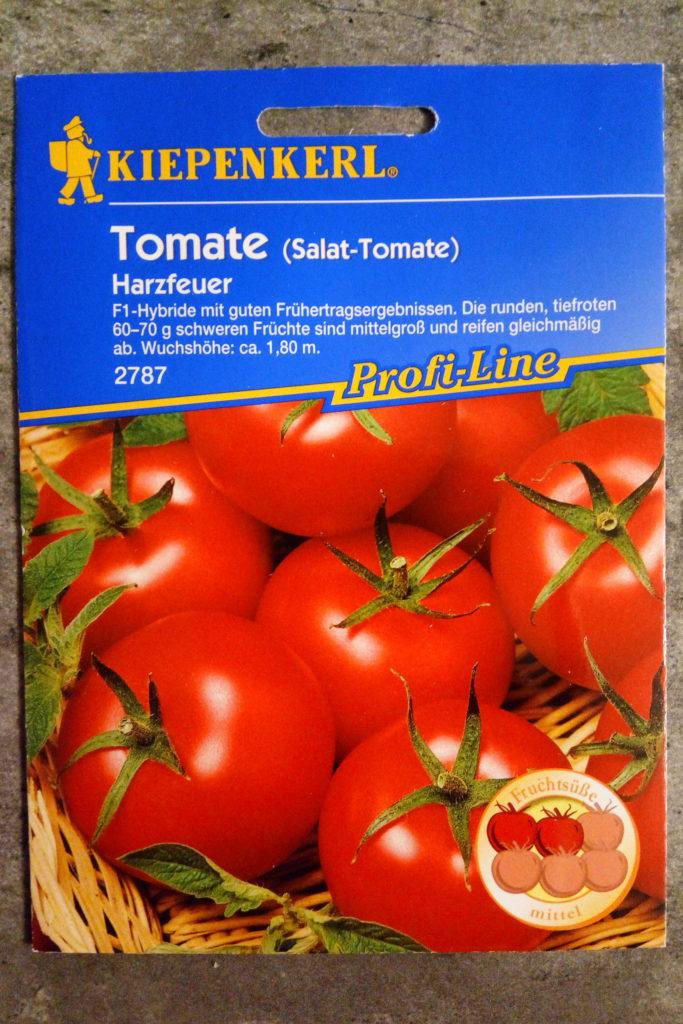 """Tomatesamen """"Harzfeuer"""""""